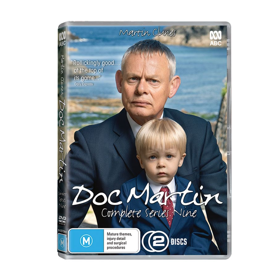 Doc Martin DVD Collection (Series 1-7+Movie)