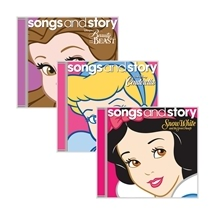 Disney Songs and Story CD Set