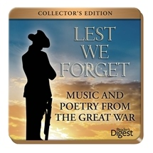Lest We Forget - Music and Poetry From The Great War