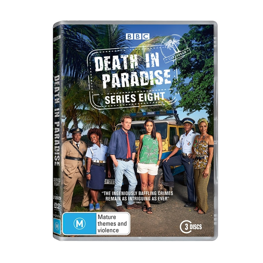 Death in Paradise - Series 1-6 DVD Collection