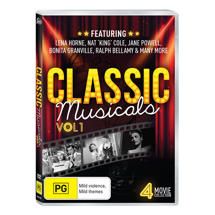 Classic Musicals - Volume 3 DVD Collection
