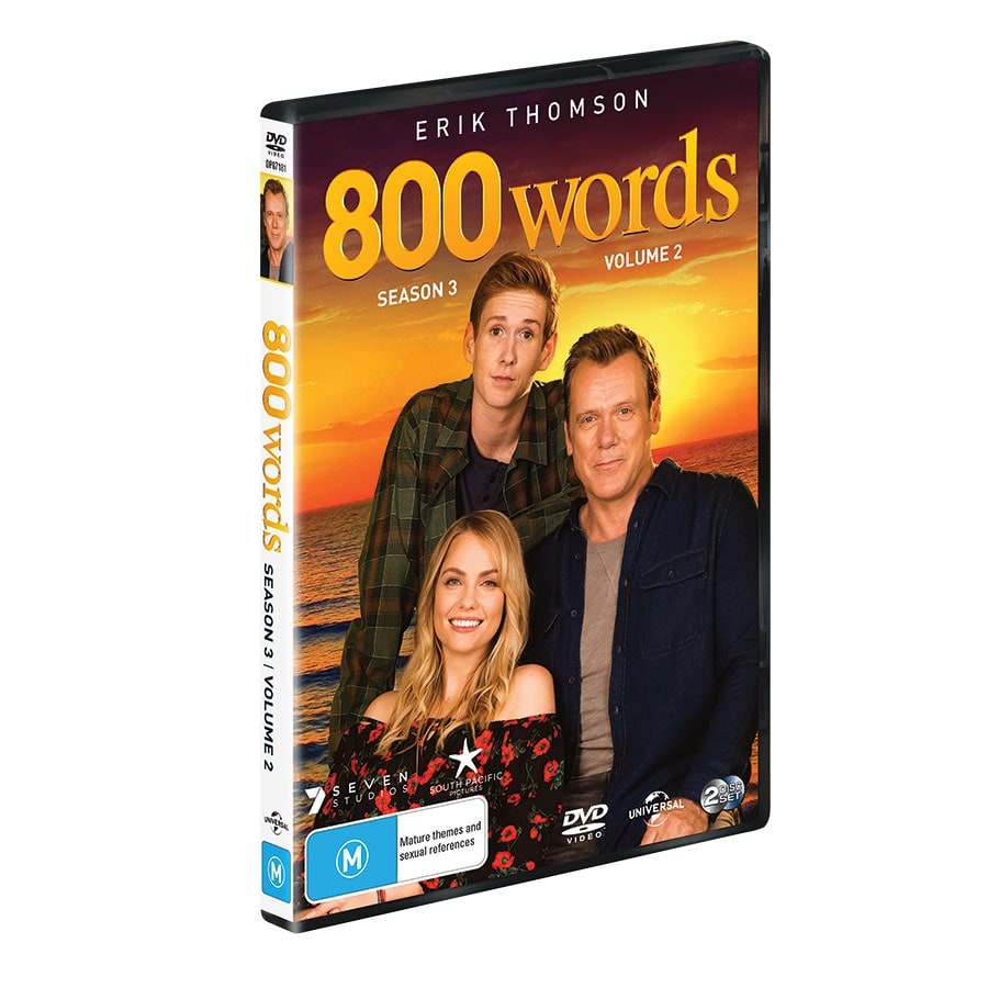 800 Words - Complete Seasons 1-2 DVD