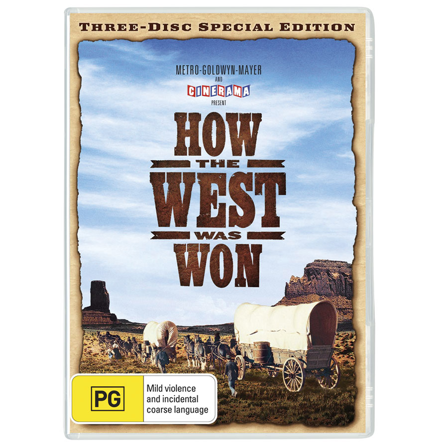 How The West Was Won (1962) DVD