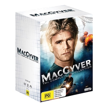 MacGyver (1985)- Complete DVD Collection