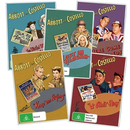 The Abbott and Costello Deluxe Collection