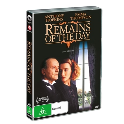 The Remains of the Day (1993) DVD